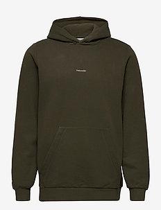 M. Identity Soft Hoodie - perus-college-paitoja - dark green