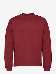 Flea Crew - basic sweatshirts - burgundy