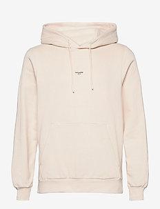 M. Oslo Hoodie - basic sweatshirts - ecru