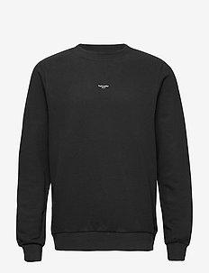 M. Oslo Crew - basic sweatshirts - black