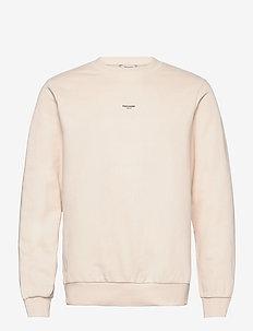 M. Oslo Crew - basic sweatshirts - ecru