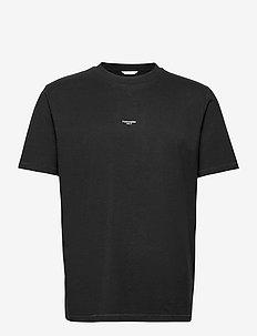 M. Oslo Tee - perus t-paidat - black