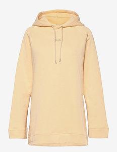 Sissel Hoodie - sweatshirts & hættetrøjer - lt. yellow