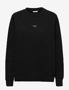 W. Oslo Crew - sweatshirts & hættetrøjer - black