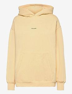 Regular Hoodie - sweatshirts en hoodies - lt. yellow