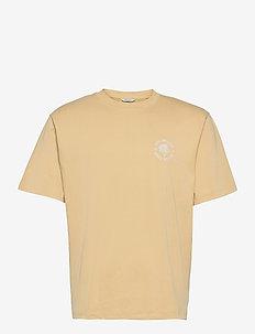 Succulent Tee - basic t-shirts - beige