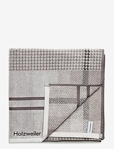 Holzweiler Towel 70x140 - strandtøj - grey check