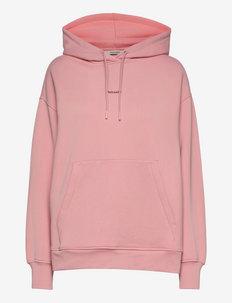 Gloria Hoodie - sweatshirts & hættetrøjer - lt. pink