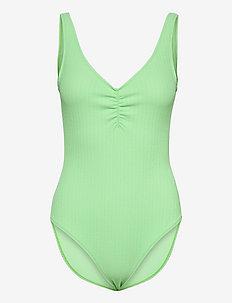 Ella Swimsuit - badeanzüge - lt. green