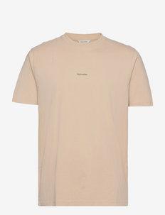 Live Tee - t-shirts à manches courtes - beige