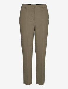 Kiara Trouser - broeken med straight ben - lt. army