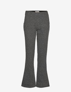Kind Trouser - uitlopende broeken - dk. grey