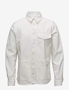 KYLE Shirtjacket - overshirts - ecru