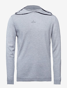 SUBLIME Knit-Light Grey Melange - LIGHT GREY MELANGE