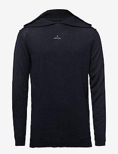 SUBLIME Knit-Black - hoodies - black