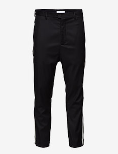 HERMAN Trousers-Black - BLACK
