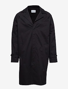 LIDO MAC Coat - tunna kappor - black