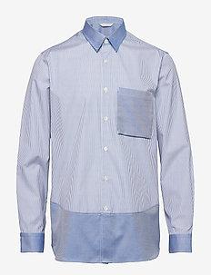BOXY Shirt Longsleeve - business skjortor - silver