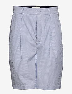 FJORD Shorts - chinos shorts - blue/ white