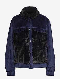 PIRANHAS Jacket - kurtki użytkowe - navy