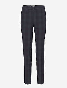 OVEDIA Trousers - BLACK CHECK