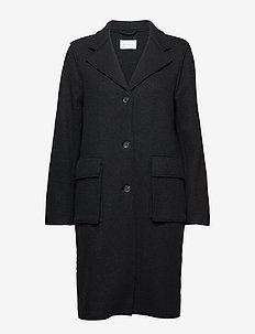 PREVAILING Coat - BLACK
