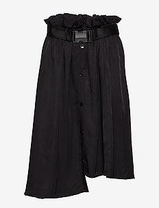 SELJORD Skirt - BLACK WASHED