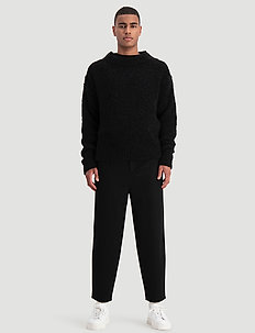 Termite Knit Sweater - stickade basplagg - black