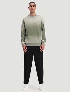 Monzon Faded Sweat - sweatshirts - green fading