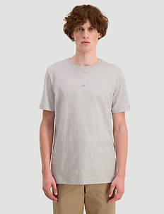 Hanger tee - basic t-shirts - light grey
