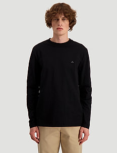 Hanger LS - basic t-shirts - black
