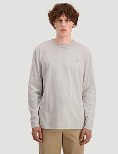 Hanger LS - basic t-shirts - light grey