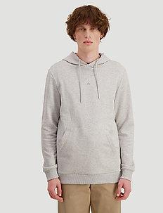 Hanger Hoodie - basic sweatshirts - light grey