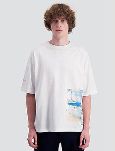 Toyenbadet t-shirt - kortärmade t-shirts - white