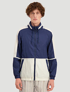 Lender Jacket - vindjakker - navy blocked