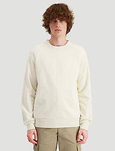 Rakker Toyenbadet crew sweat - basic sweatshirts - ecru