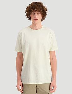 Live tee - basic t-shirts - yellow faded