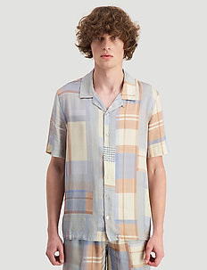 Bo shirt - rutiga skjortor - light blue check