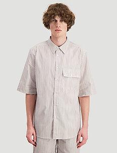 Blyg Shirt - kortärmade skjortor - yellow stripe