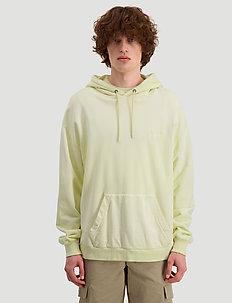 HZW hood Yellow faded - basic sweatshirts - yellow faded