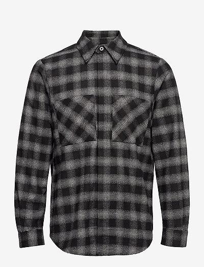 Emi shirt - oxford-skjorter - black check