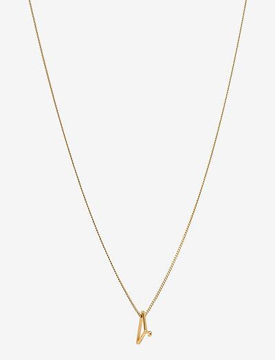 Gold Hanger Necklace Small 00-00 - kettingen met hanger - gold plated