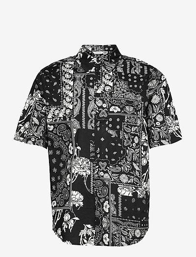 Wiki Shirt - oxford-skjorter - black mix