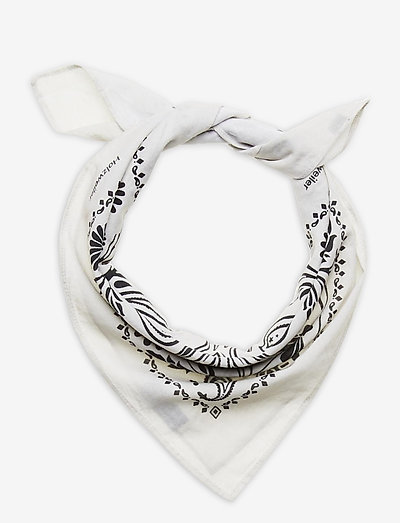 Cotton Scarf Small - accessories - lt. grey mix