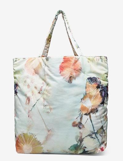 Taos Tote - tote bags - mint flower