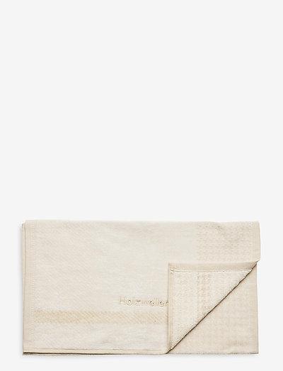 Holzweiler Towel 40x70 - strandmode - ecru check