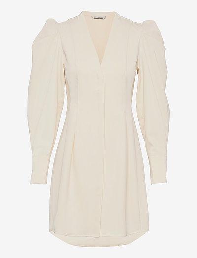 Vivian Dress - cocktail dresses - ecru