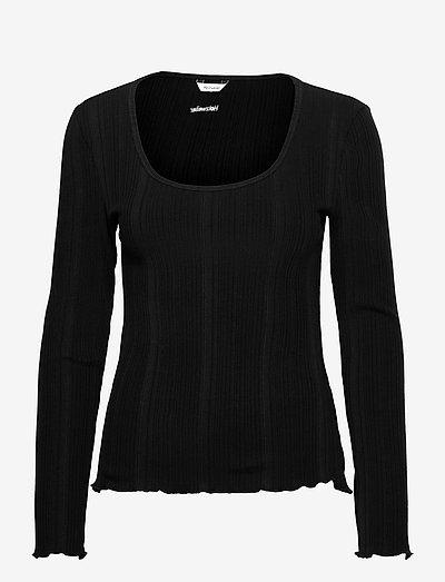 Puh LS - long-sleeved tops - black