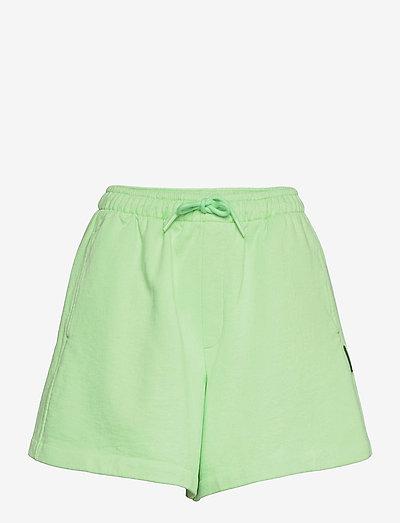 Musan Sweat Shorts - casual shorts - lt. green