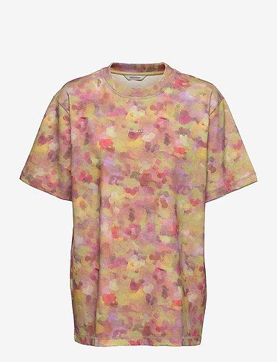 Sediments Tee - kortärmade t-shirts - lt. green mix